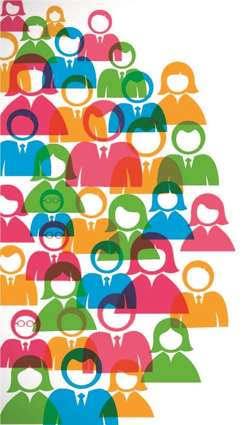 SocialMedia People Graphic 500x877