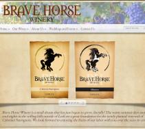 www.BraveHorseWinery.com